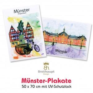 Münster-Plakate