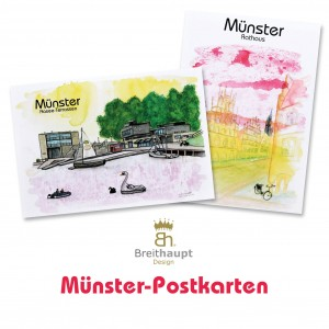 Münster-Postkarten