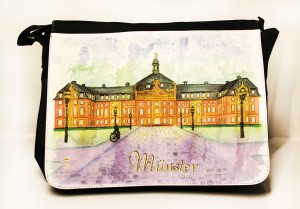 Münster-Collegetasche-Schloss