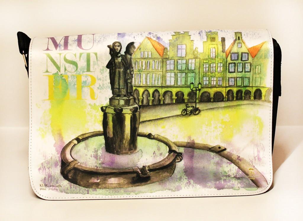 Münster-Tasche-Lambertibrunnen