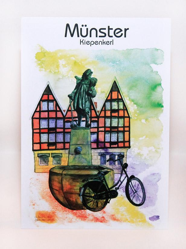 Münster-Poster-Kiepenkerl