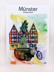 Münster-Postkarte-Kiepenkerl