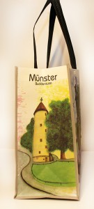 Münster Shoppingbag Buddenturm