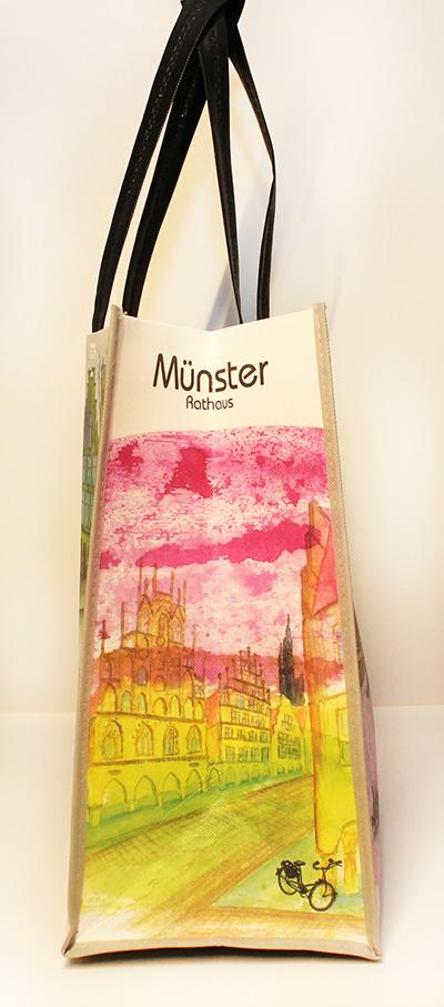 Münster Shoppingbag Rathaus