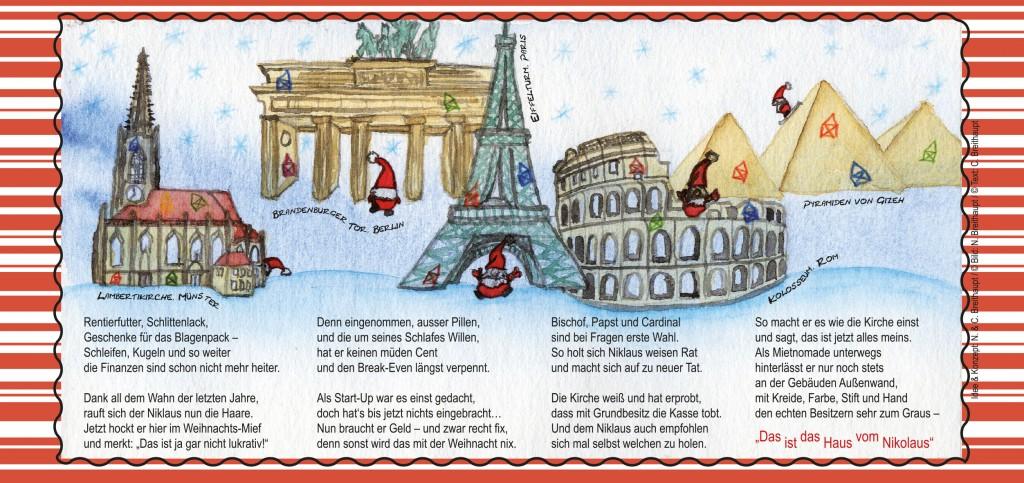 Weihnachtskarte-Nikolaus