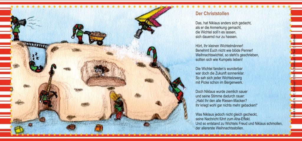 Weihnachtskarte-Christstollen