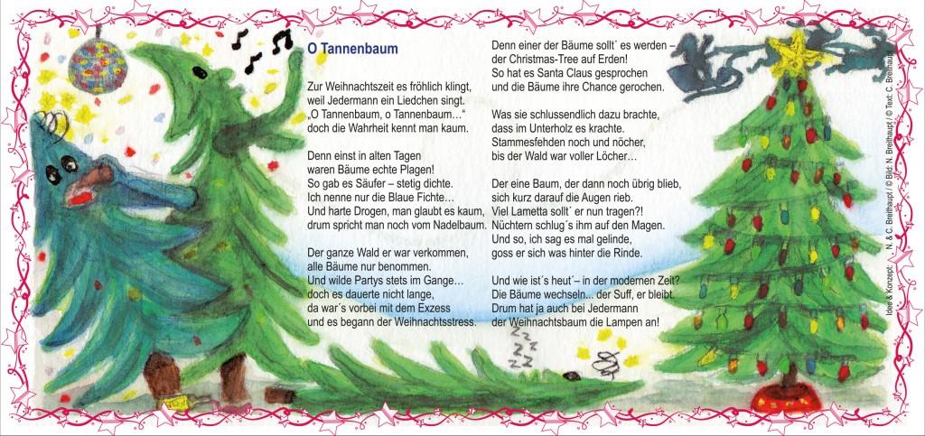 Weihnachtskarte-O Tannenbaum